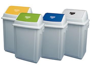 Nuevos contenedores de basura con tapa basculante Distoc