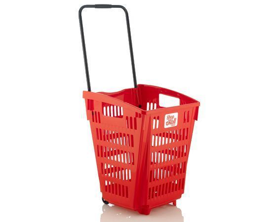 Las cestas de supermercado con ruedas aumentan las ventas