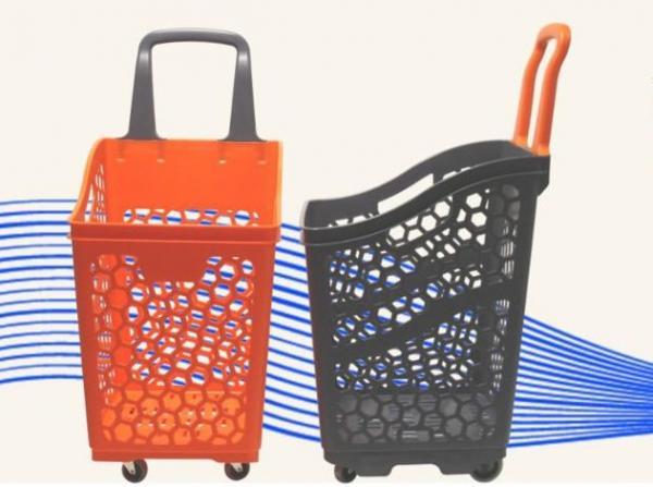 Nueva cesta con ruedas de 65 L