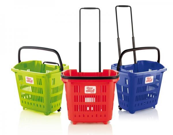 ¿Cestas Supermercado con o sin ruedas?