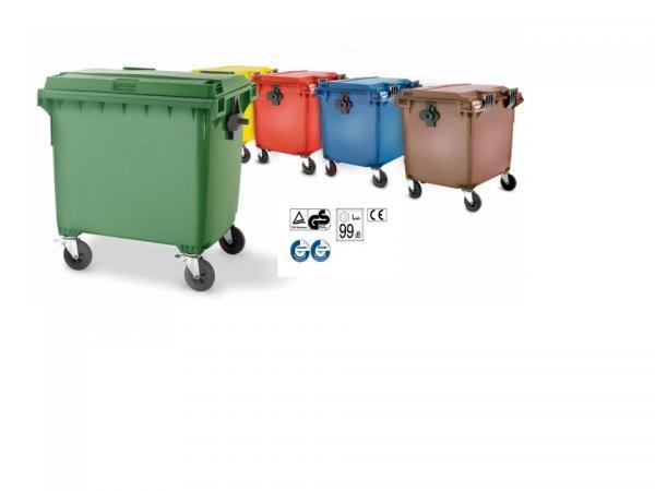 Tipos de contenedores de basura - Distoc