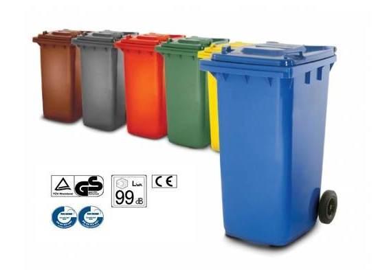 Contenedores de basura de 240 L - Distoc Mediterraneo