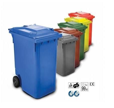Contenedores de basura 360 L - Distoc