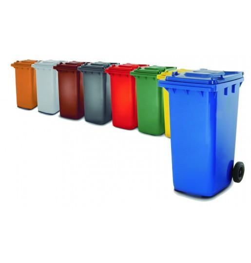 Contenedores de reciclaje en diferentes colores - Distoc