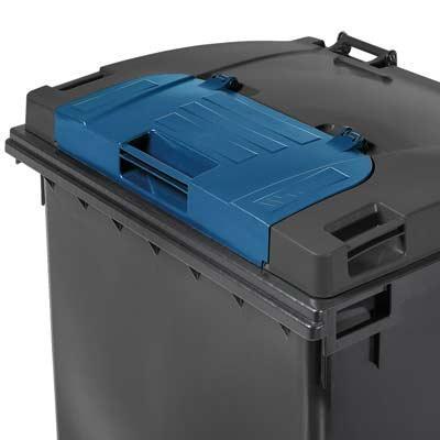 Nueva línea contenedores de basura Distoc con tapa separada