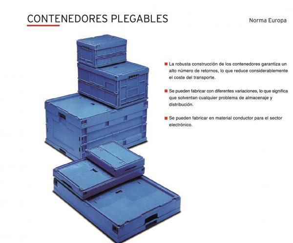 Nuevos contenedores plegables Distoc
