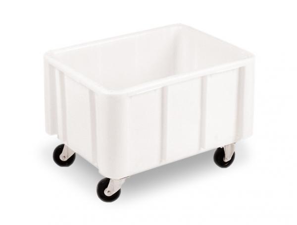 Cajas almacenaje plástico con ruedas y tapa