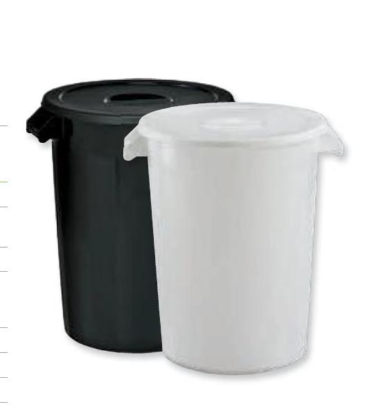 Nuevos cubos de basura de comunidad de 100 L en colores
