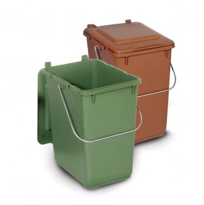 Papeleras para reciclaje y compostaje