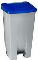 Contenedor de basura 80 L con pedal plastico -
