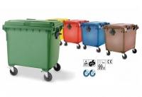 Contenedores de basura 1100 L -