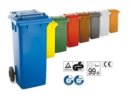 Contenedores de basura 120 L -