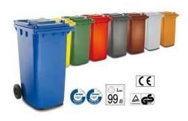 Contenedores de basura 240 L -