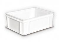 Cubeta 400x300x170 - Cajón de plástico apto para uso alimentario 400x400xalto170 mm