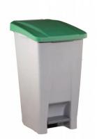 Cubo de basura 60 L con pedal plástico -