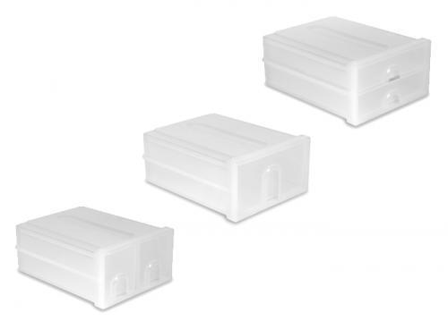 Cajonera de un cajon apilable y modulable distoc for Cajoneras de plastico