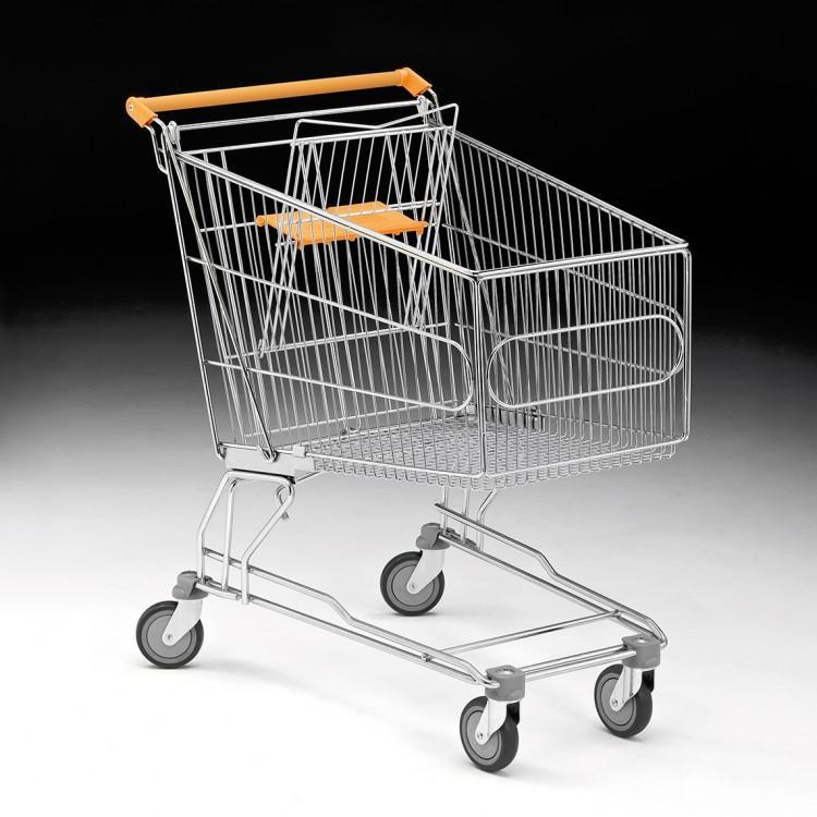 Carro compra supermercado 180 L -