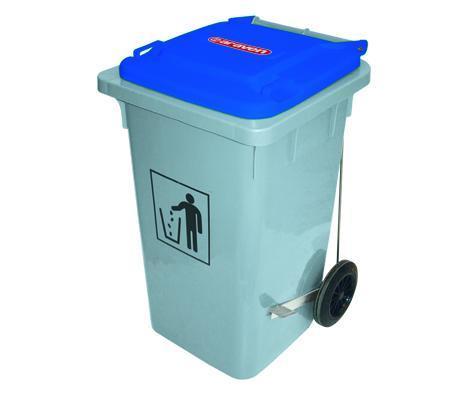 Cubos de basura con pedal metálico 80, 100 y 120 L -